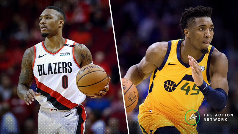 Blazers-Jazz Christmas Betting Guide: Time to Buy the Jazz? article feature image