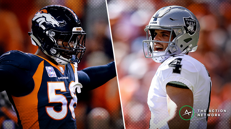 Broncos-Raiders MNF Betting Preview: Back Oakland as a Trendy Dog? article feature image