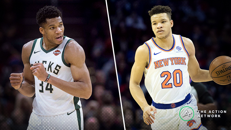 Bucks-Knicks Christmas Betting Guide: Value on the Over/Under? article feature image
