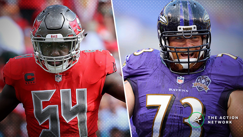 Schwartz's Trench Report: What I'm Betting in Buccaneers-Ravens article feature image