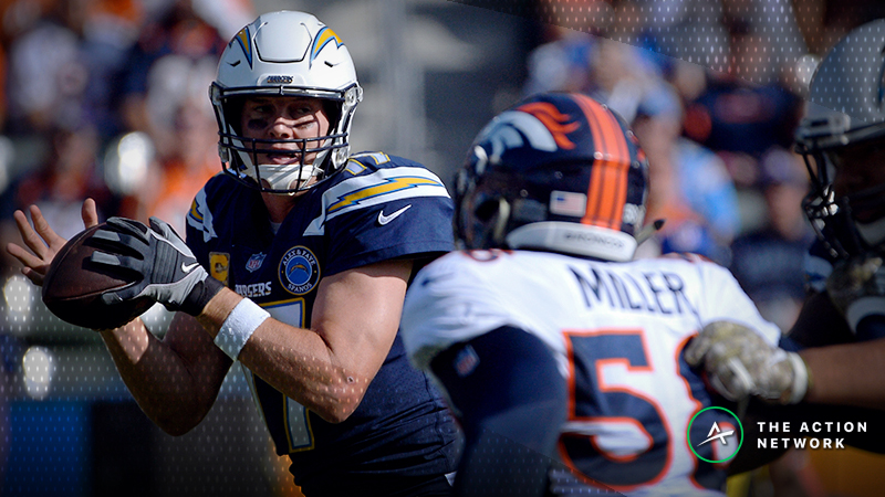 Zylbert's NFL Over/Unders: How to Profit off This Philip Rivers Trend in Chargers-Broncos article feature image