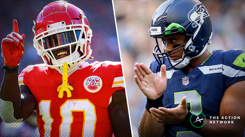Chiefs-Seahawks SNF Betting Preview: Which Prime-Time Kings Will Reign? article feature image
