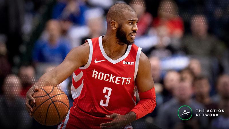 Moore: Will Chris Paul Dish out More Than 8.5 Assists in Miami? article feature image