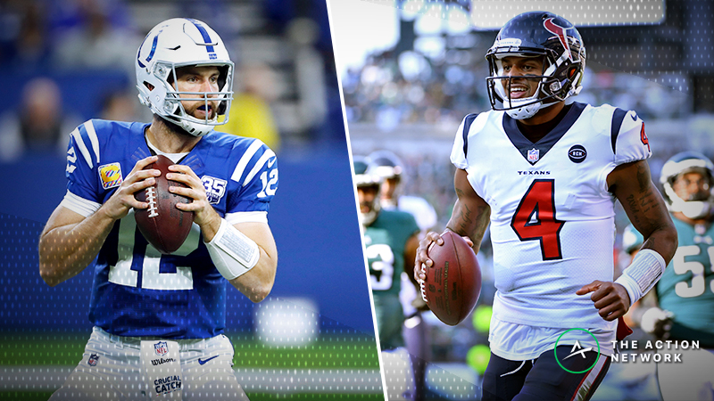Colts-Texans Betting Odds: Opening Spread, Trends for AFC Wild Card Game article feature image