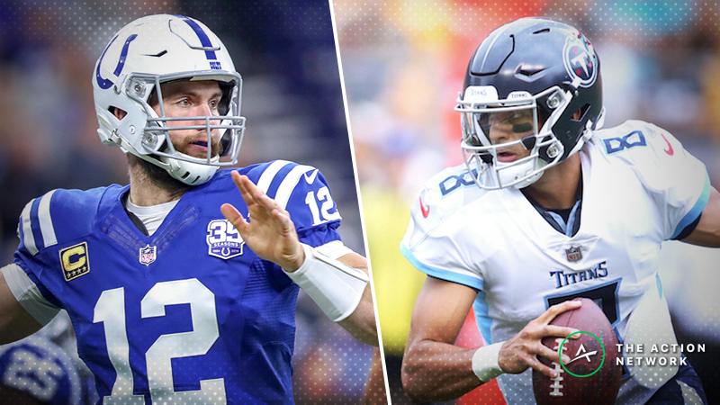 Colts-Titans SNF Betting Preview: Who Will Win the AFC's Final Wild-Card Spot? article feature image