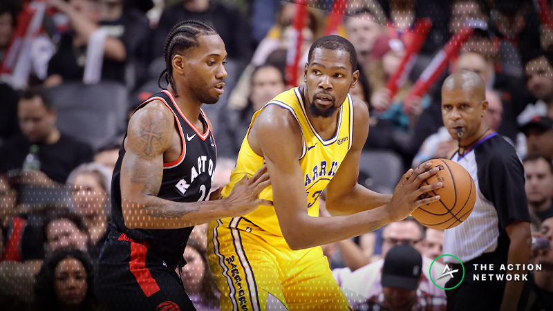 Kevin Durant Over/Under 27.5 Points: Can Toronto Slow Him Down? article feature image