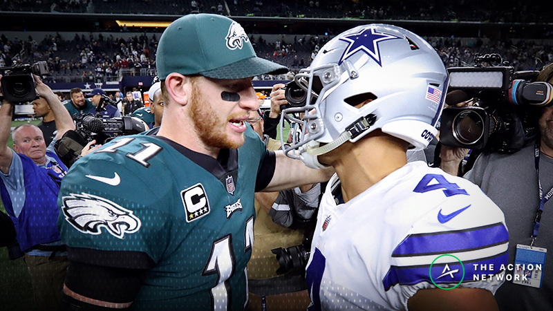 Eagles-Cowboys Betting Preview: Keep Riding Dallas After Last Week's Big Win? article feature image