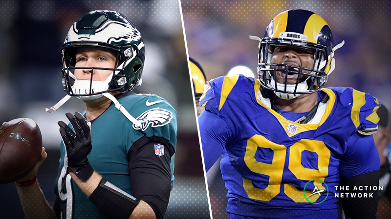 Eagles-Rams SNF Betting Preview: Can You Trust Nick Foles in LA? article feature image