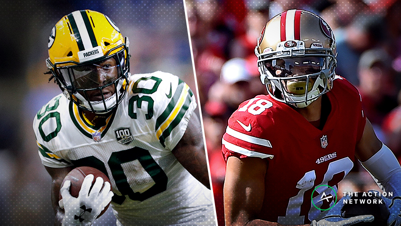 Fantasy Football Waiver Wire Targets: Jamaal Williams, Dante Pettis Highlight Championship Pickups article feature image