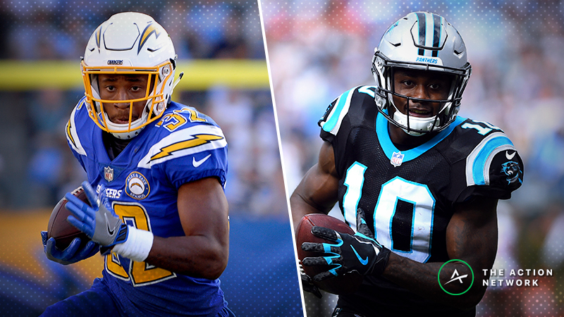Fantasy Football Waiver Wire Targets: Justin Jackson, Curtis Samuel, More Players to Buy For Playoffs article feature image