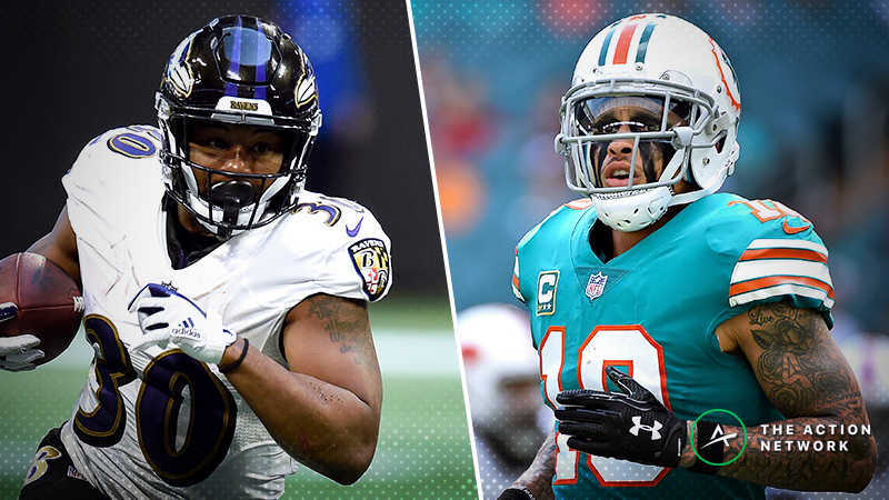 Fantasy Football Waiver Wire Targets: Buy Kenneth Dixon, Kenny Stills, More for Playoffs article feature image