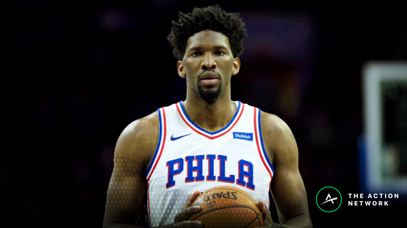 NBA Injury Report: Betting, DFS Impact of Joel Embiid, Hassan Whiteside Absences article feature image