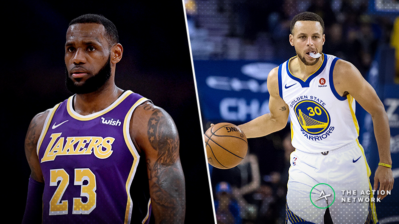 Lakers-Warriors Christmas Betting Guide: Can LeBron and Co. Cover the Big Number? article feature image