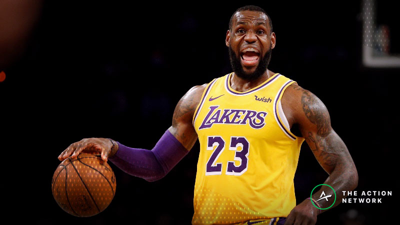 Pelicans-Lakers Betting Guide: Time to Buy Low on the Lakers? article feature image