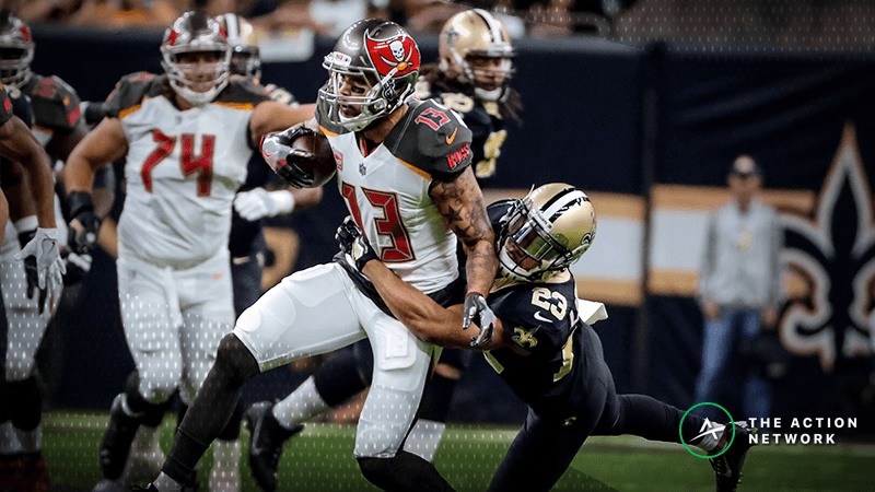 NFL Week 14 WR/CB Matchups: Who Will Win Between Mike Evans and Marshon Lattimore? article feature image