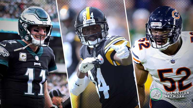 NFL Week 14 Cheat Sheet: Betting, Fantasy Football, More article feature image