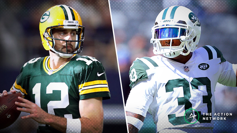 Packers-Jets Betting Preview: Can Aaron Rodgers Bounce Back? article feature image