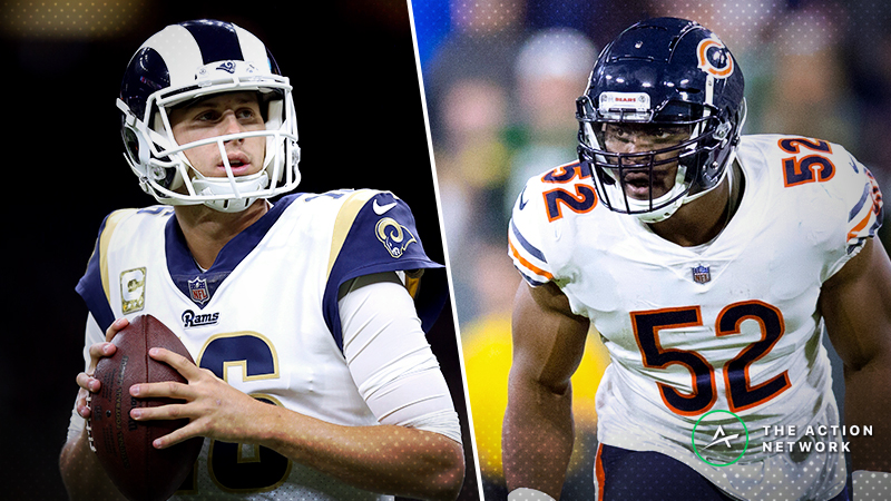 Rams-Bears SNF Betting Preview: Can Chicago Hang With the Red-Hot Rams? article feature image