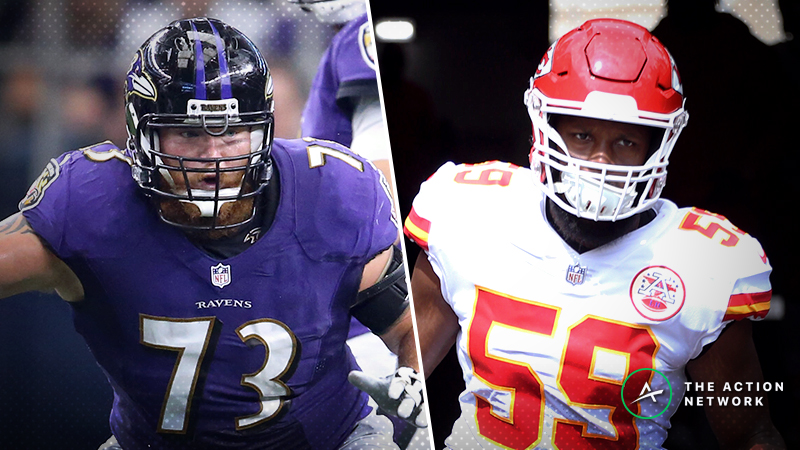 Schwartz's Trench Report: What I'm Betting in Ravens-Chiefs article feature image