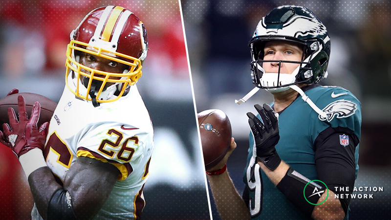 Eagles-Redskins Betting Preview: The Public Can't Get Enough of Philly article feature image