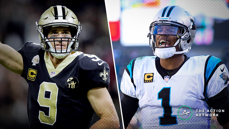Saints-Panthers MNF Betting Preview: Is Who Dat Getting Too Much Respect? article feature image