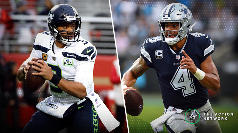Seahawks-Cowboys Betting Odds: Opening Spread, Trends for NFC Wild Card Game article feature image