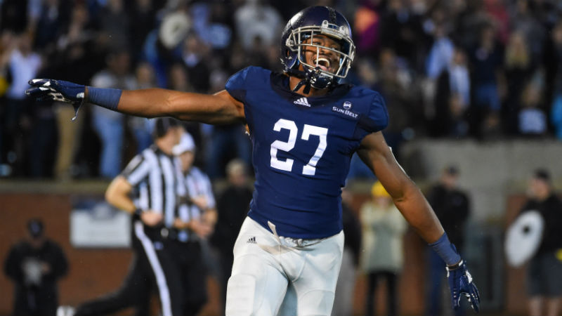 Georgia Southern-Eastern Michigan Betting Guide: Triple Option Will Rule 2018 Camellia Bowl article feature image