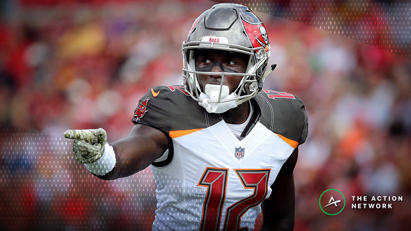 NFL Week 13 Fantasy WR Breakdown: Will Chris Godwin Own the Slate? article feature image