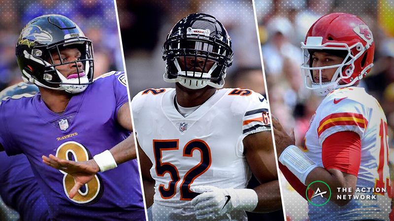BlackJack's Favorite Week 16 NFL Bets: Ravens-Chargers, Bears-49ers, Chiefs-Seahawks article feature image