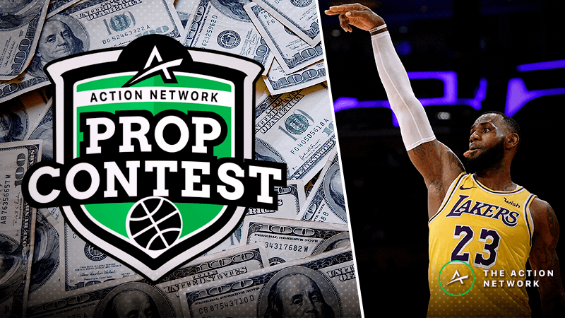 Win $1,000 in Cash: Enter Wob's FREE Wednesday NBA Props Contest article feature image