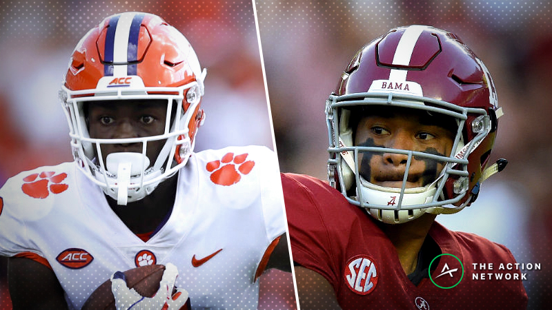Wilson: My Initial Betting Thoughts On Clemson-Alabama In The National Championship Game article feature image