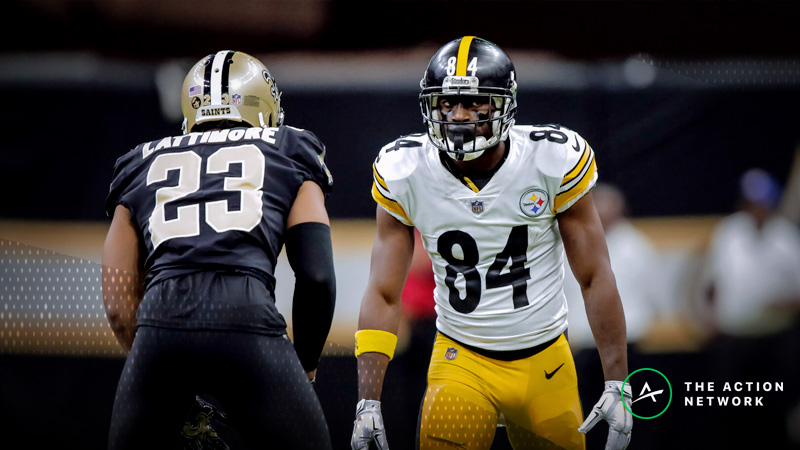 Top Fantasy Football Performers: Antonio Brown, Zach Ertz, More Week 16 Highlights article feature image