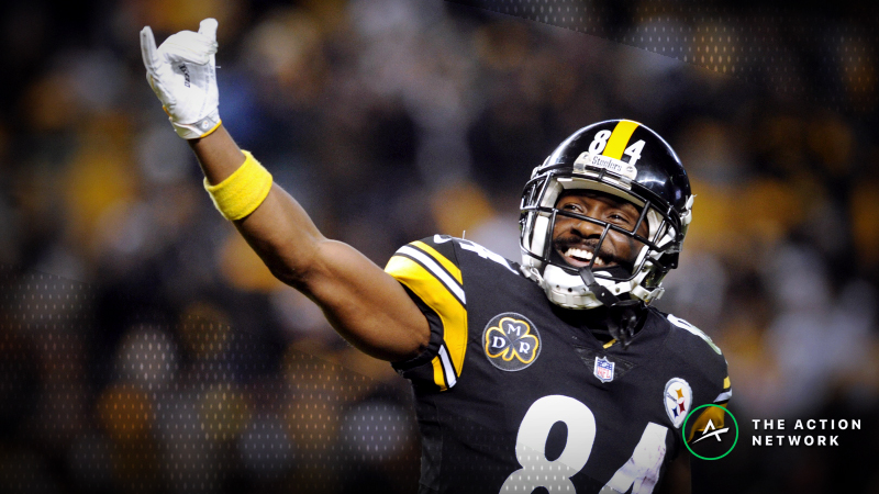 Best Chargers-Steelers SNF Prop Bets: Antonio Brown Over/Under 89.5 Yards? article feature image