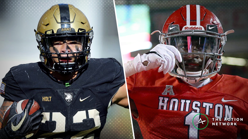 Army-Houston Betting Guide: CFB's Tortoise vs. Hare in 2018 Armed Forces Bowl article feature image