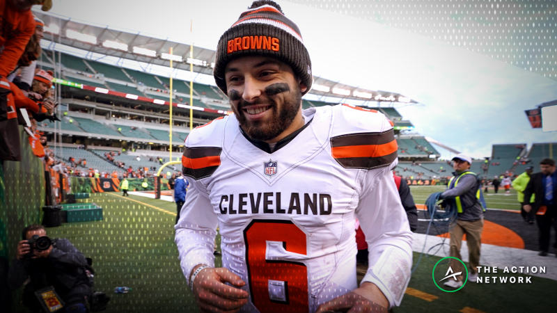 Week 16 NFL Betting Market: Bettors Backing Baker Mayfield Against Bengals article feature image