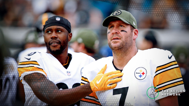 NFL Week 14 Fantasy QB Breakdown: Can You Trust Ben Roethlisberger on the Road? article feature image