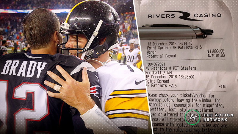 Meet the Steelers Fan Who Bet $11K Against His Own Team in Sportsbook's First Wager article feature image