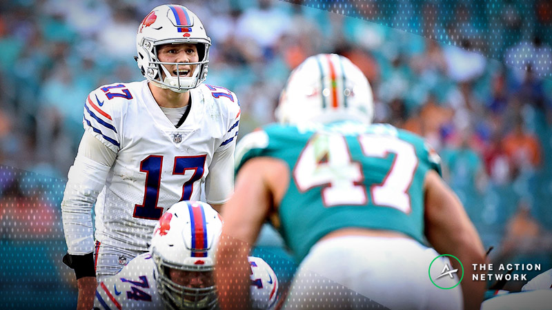 Dolphins-Bills Betting Preview: How Sharps Are Betting This Matchup article feature image