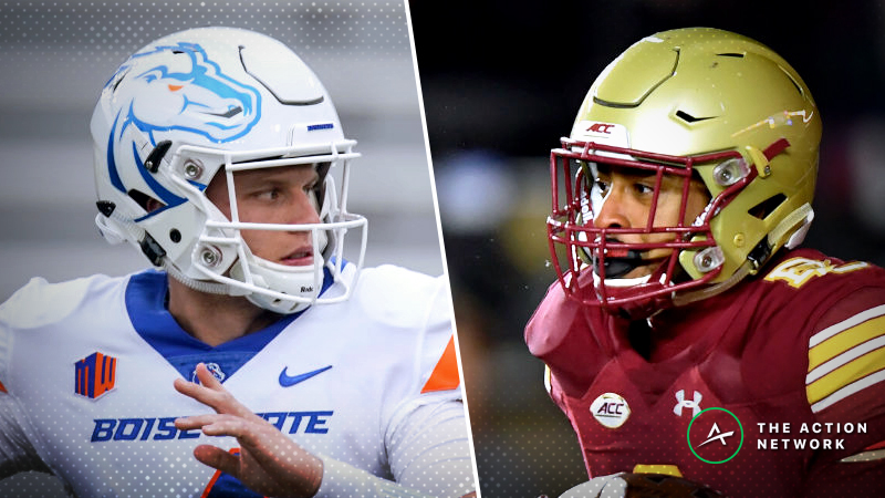 Boise State-Boston College Betting Guide: Wind Plummets Total in First Responder Bowl article feature image