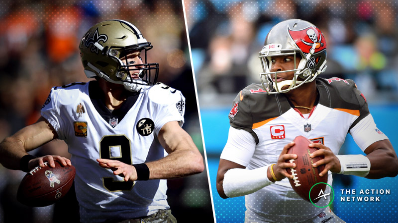 Saints-Buccaneers Betting Preview: Expect Another High-Scoring Affair Between These 2 Teams? article feature image