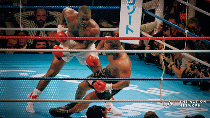 30 Years After Buster Douglas over Mike Tyson: The Huge Bets That Lost & the Many Myths That Popped Up article feature image