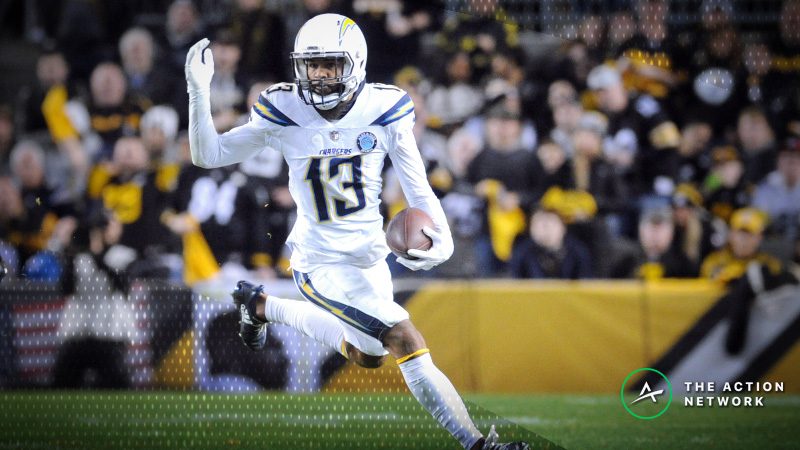 Best Chargers-Chiefs TNF Props: Keenan Allen Over/Under 6.5 Receptions? article feature image