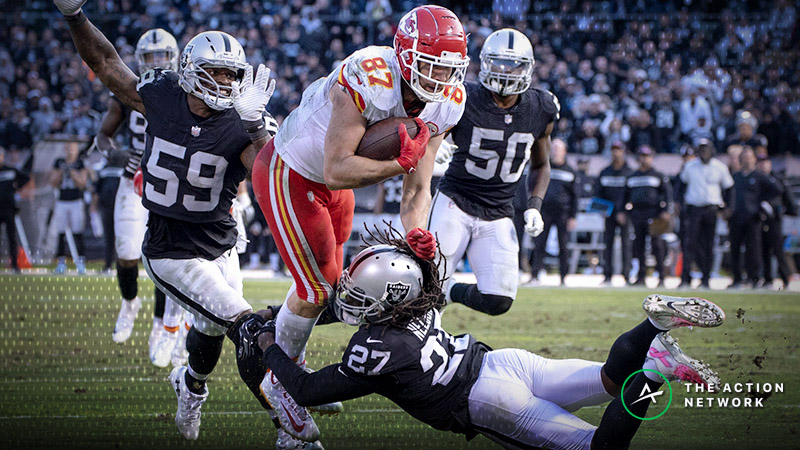 Raiders-Chiefs Betting Preview: Will K.C. Continue to Let Bettors Down? article feature image