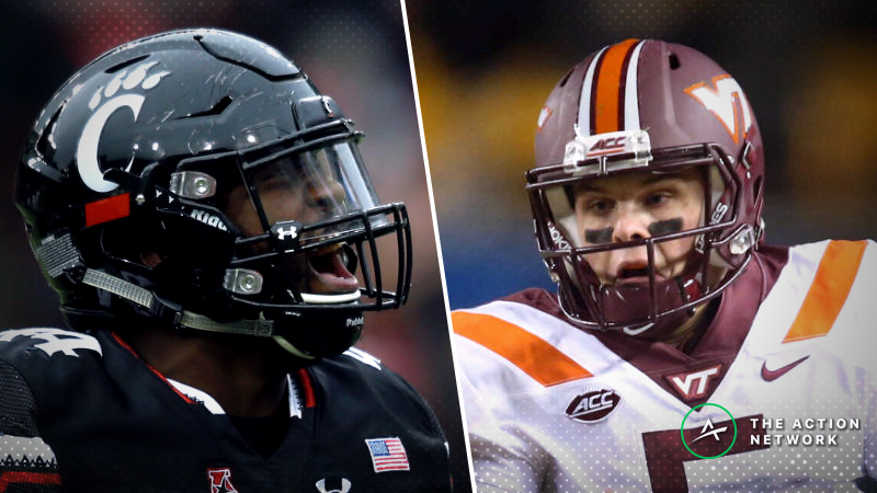 Virginia Tech-Cincinnati Betting Guide: Run Game Will Dictate 2018 Military Bowl article feature image