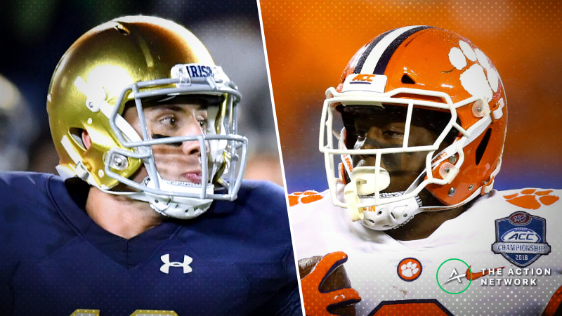 Clemson-Notre Dame Betting Guide: Can Irish Exploit Tigers' One Flaw in College Football Playoff? article feature image
