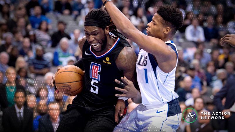 Sharps Hitting Mavs-Clippers Over/Under Thursday Night article feature image