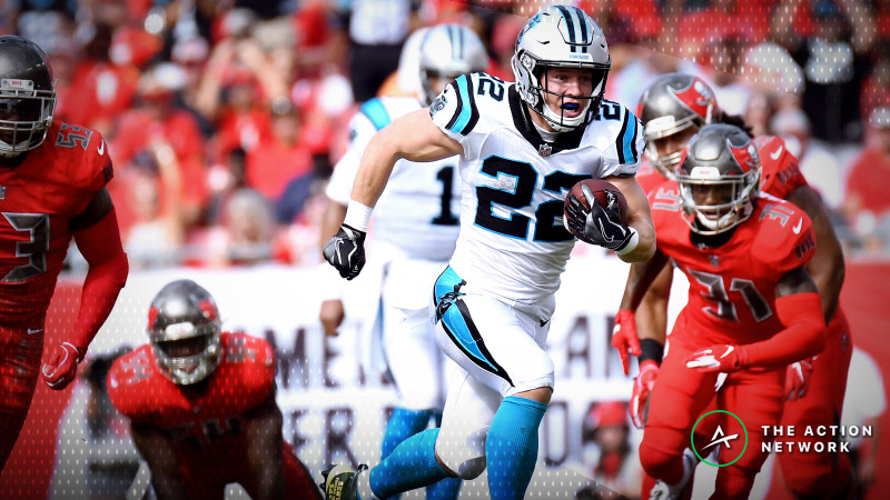 Fantasy Football RB Report: The Case for Christian McCaffrey as Week 14's No. 1 RB article feature image