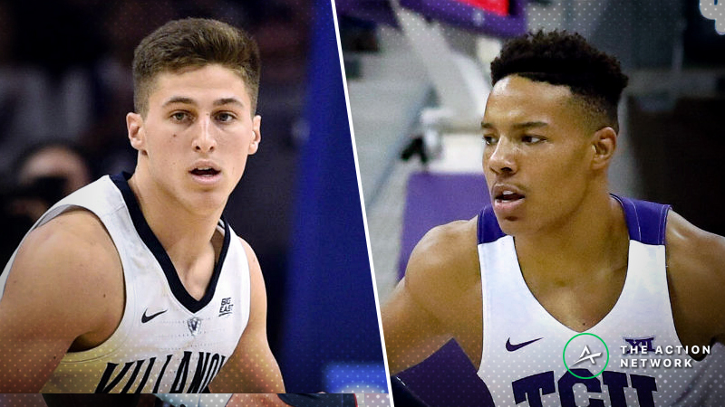 Wednesday's College Basketball Betting Previews: Temple-Villanova, TCU-SMU article feature image