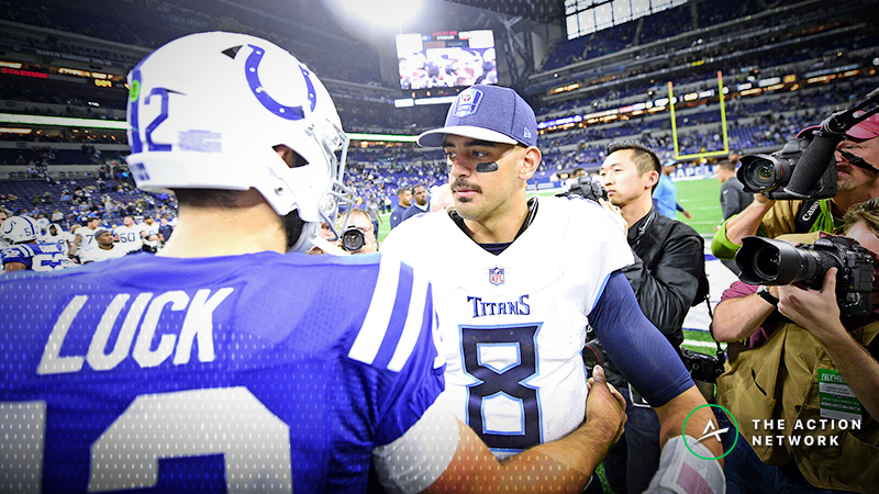 Early Week 17 NFL Odds: Colts Favored Over Titans With Key Playoff Implications article feature image
