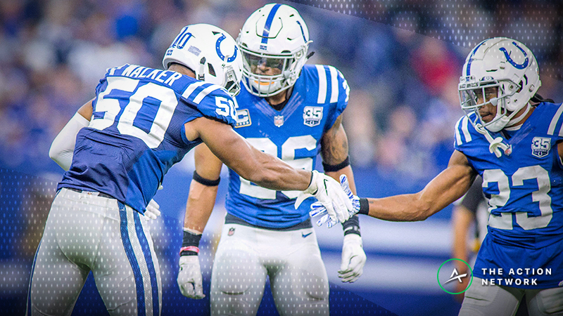 Colts-Titans Betting Odds: Tracking Sunday Night Football Line Moves article feature image